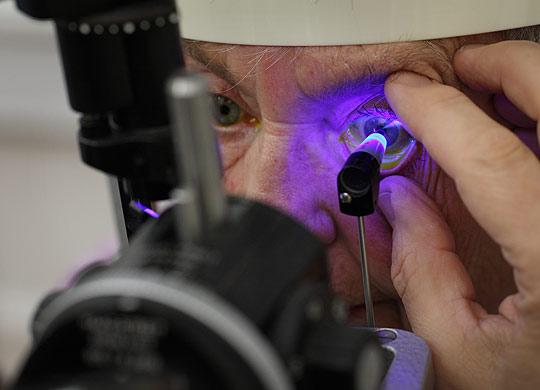 Øjenlæge undersøgelser